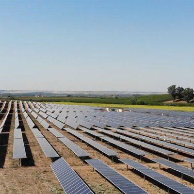Culminación de la construcción de la Planta Fotovoltaica del Bembézar