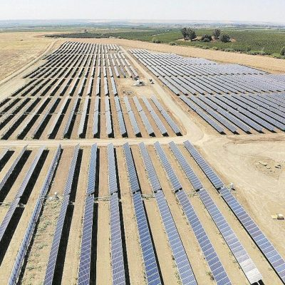 Riego de cultivos con energía solar en el Bembézar